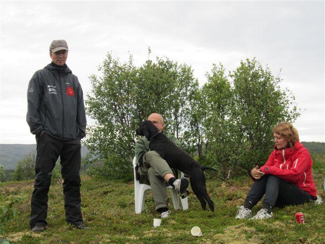 Jimsrypas Prince eiere Fredrik og Elisabet Foto Arthur Aune