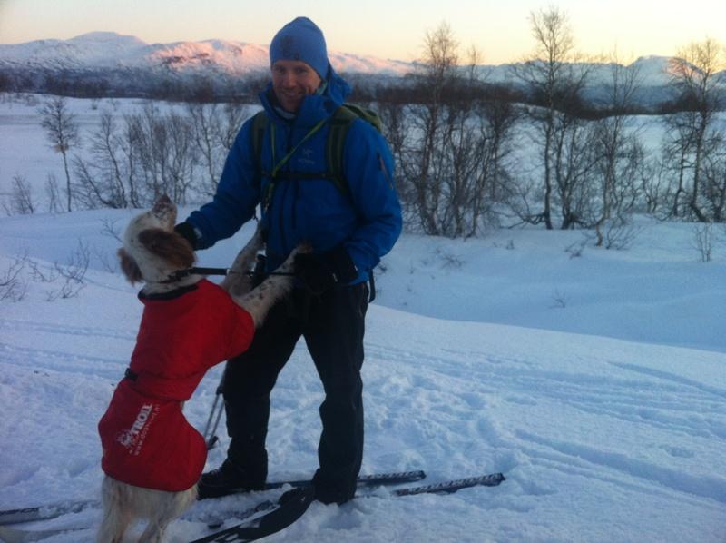 Torgeir Ingebrigtsen og ES Withe Trix Lady Best i AK_VK