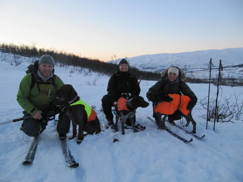Nr 4. 25p, Strihårvorsthlaget: Petter og Bart, Harriet og Matiis, Trude og Lotta